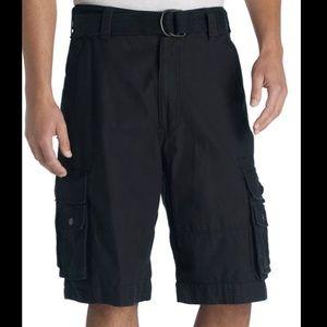 NEW Levi's Men's Squad Navy Cargo Shorts in Sz 32